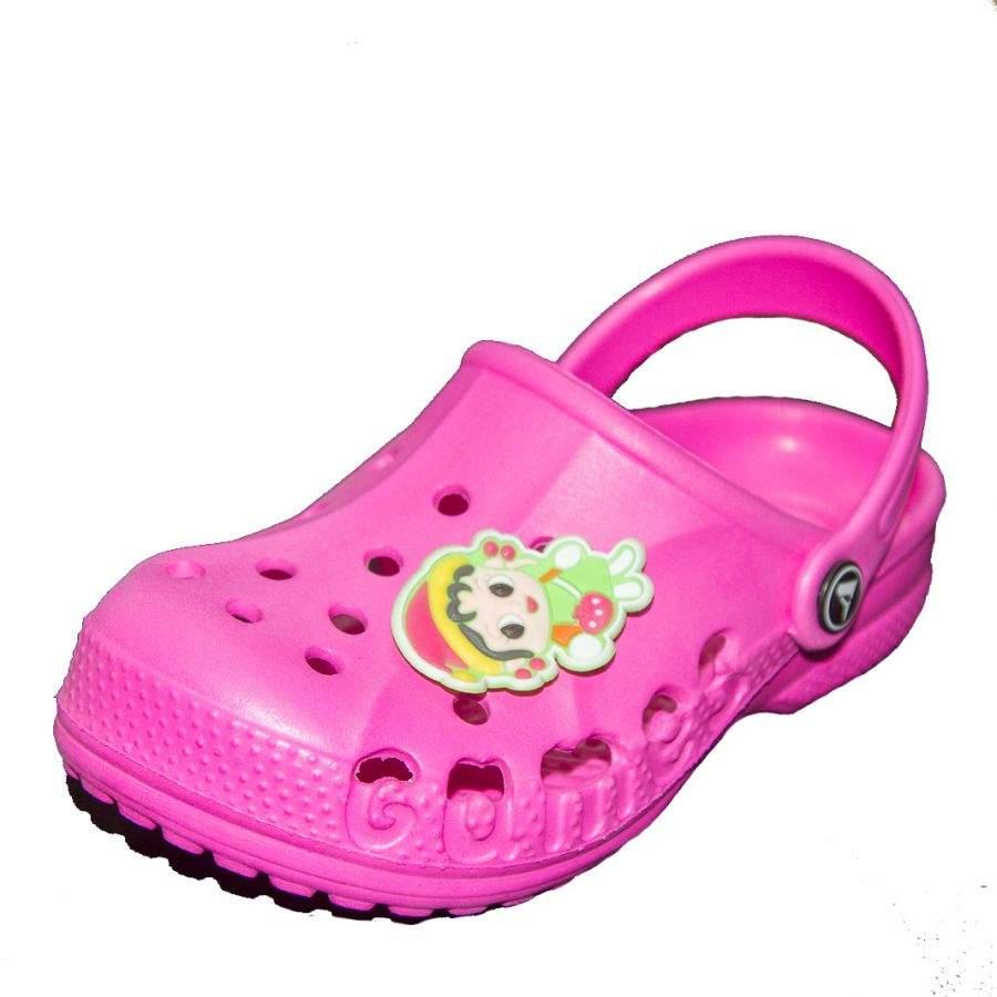 d2781c6c0 Пляжная детская обувь Vitalya для девочек цвета фуксия из ЭВА купить ...