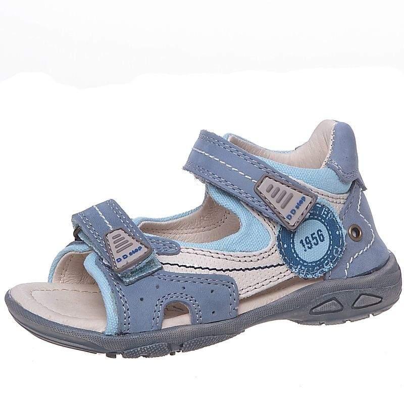 90fb43d4f Босоножки для мальчиков D.D.Step AC290-20A синего цвета купить в ...