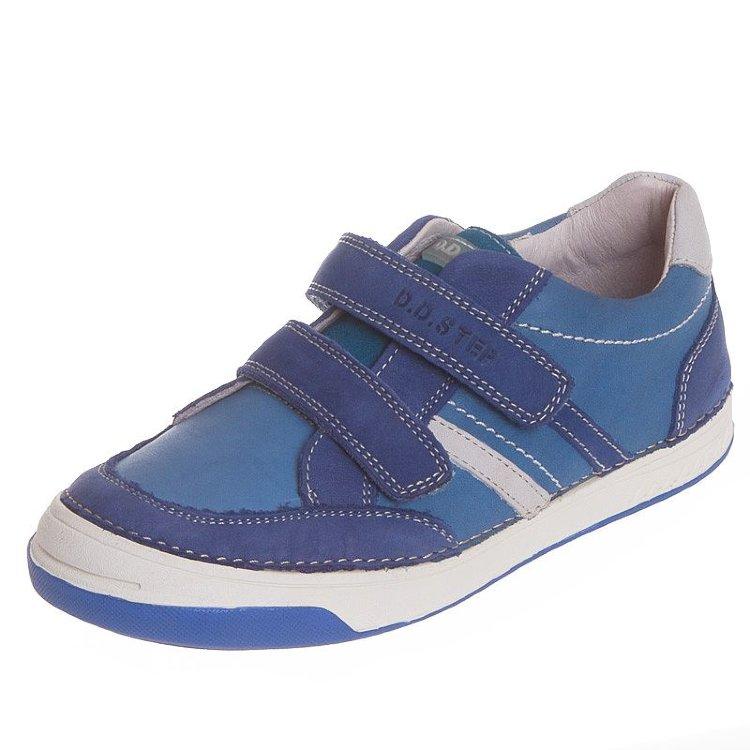 00d49970792da8 Спортивні шкіряні туфлі D. D. Step 040-1 CL для хлопчиків в інтернет ...